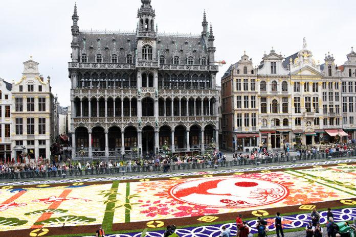 2016 Brussels Flower Carpet