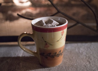 What to pack for a glamping trip hot chocolate