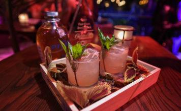 Cocktails at CORE Fundraiser at Cuba Libre